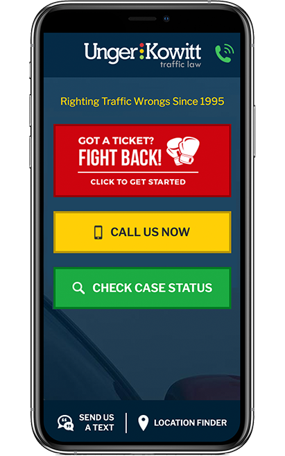 Speeding Ticket App >> Traffic Ticket Attorney Florida Unger Kowitt Traffic Law