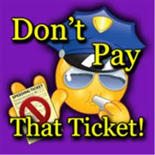 cartoon that says don't pay that ticket