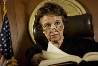 old woman judge